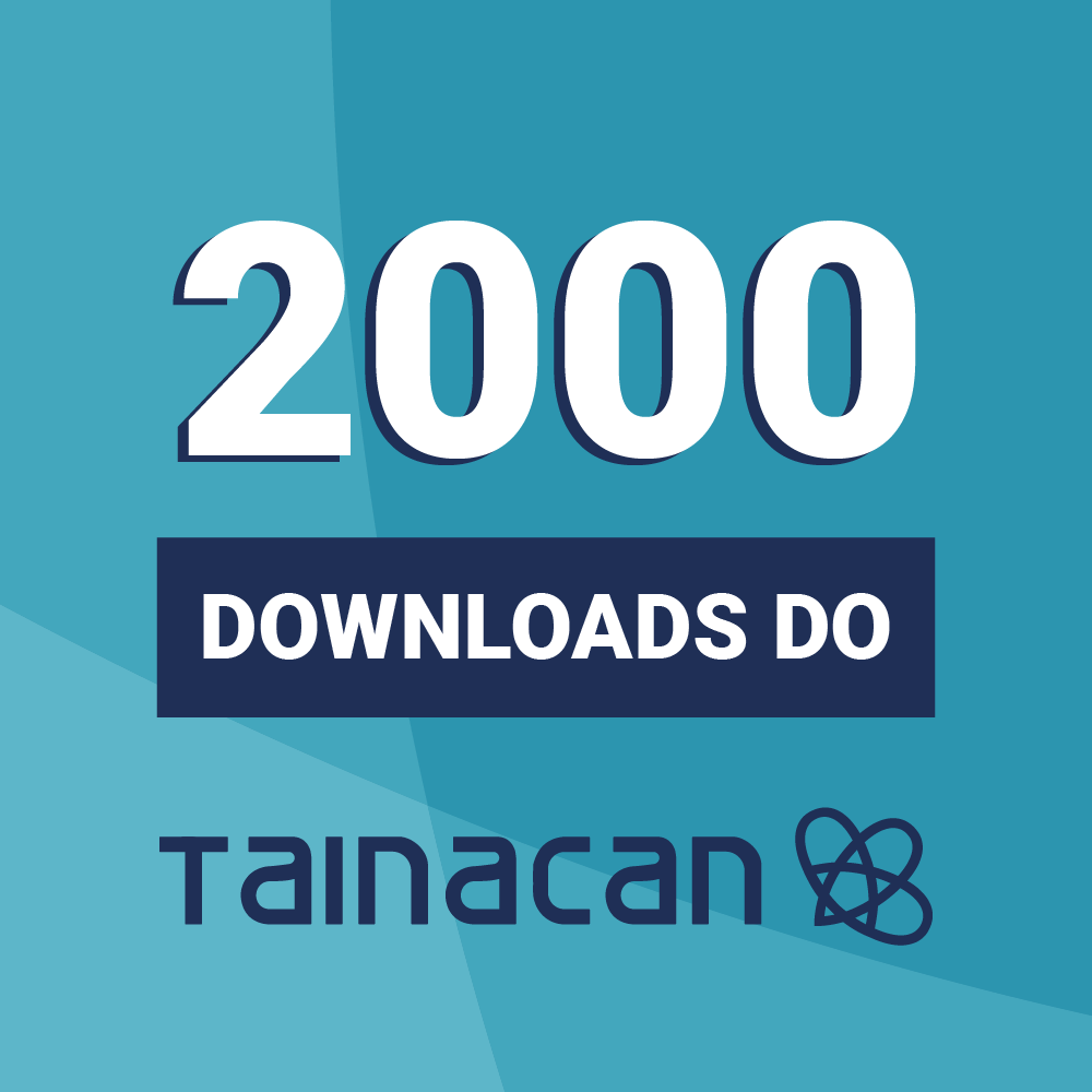 2000 DOWNLOADS DO TAINACAN