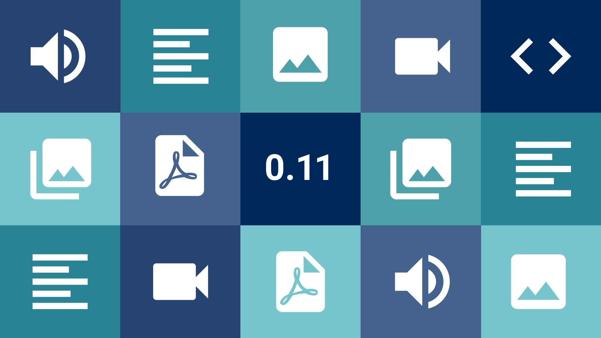 Imagem de Capa da Versão 0.11